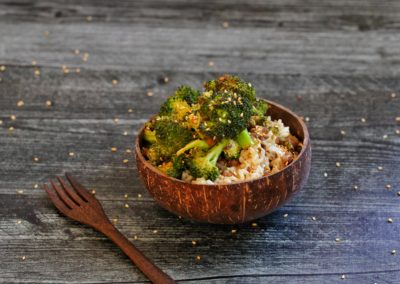 Roasted Sesame Broccoli